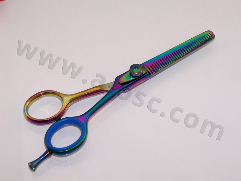 Titanium Thinning Shears (Double Blade)