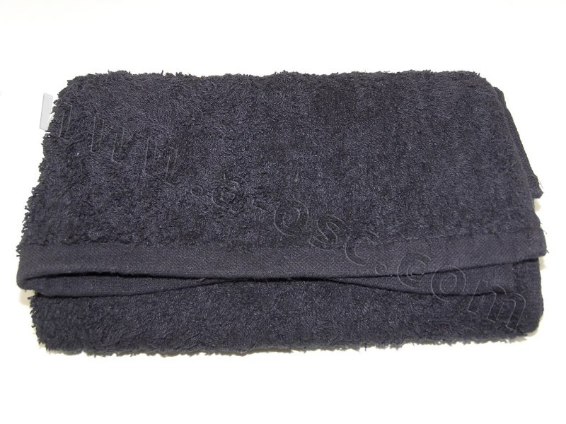 Black Salon Towel
